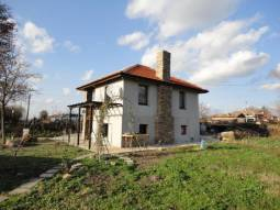 15km to Burgas, Newly Built in 2016 -  TOP VILLAGE, 3700sq.m of land, New Insulation, New fitted Kitchen!!!